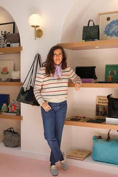 """Vivier, who runs the handbag-heavy fashion empire Clare V. in Los Angeles, called San Francisco home for 12 years after moving here from her native Minnesota in 1989 to study English at the University of San Francisco. Vivier moved to Los Angeles in 2001 (for her current husband's job in French broadcast journalism), and formally launched her eponymous company onto the wholesale market in 2008. """"We've always wanted to open in San Francisco, and especially through our e-commerce, we know…"""