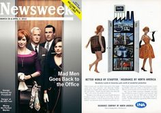 Newsweek goes back in time for Mad Men's return.