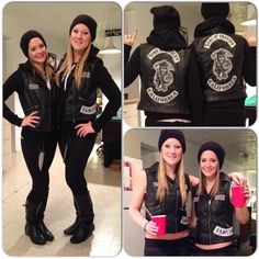 Sons of Anarchy Halloween costume. Samcro. Opie.