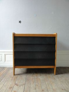 COMMODE ANNEES 50 TIROIRS NOIRS