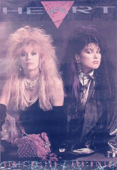 Heart the band 80's - Wow. That's some hair you got there ladies!