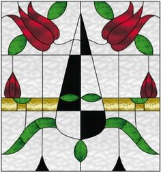 contemporary stained glass window available at: http://AGlassMenagerie.net or easier to remember Glassmen.net