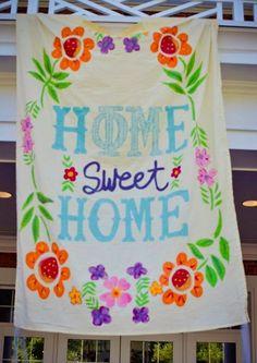 home sweet home | Bows, Pearls & Sorority Girls
