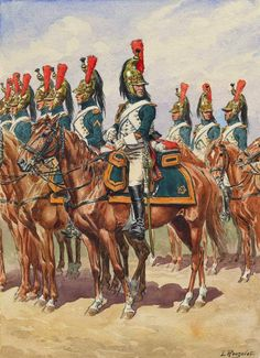 NAP- France: Dragoons of the Imperial Guard, by Lucien Rousselot.