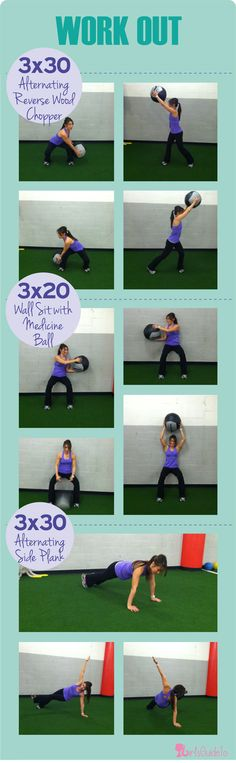 GirlsGuideTo | Workout Wednesday: Burn Belly Fat With This Hard CORE Workout | Work Out