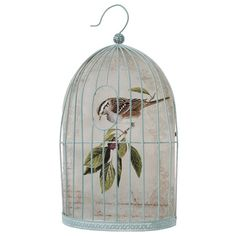 Metal Birdcage Wall Decoration | Baker and Maker