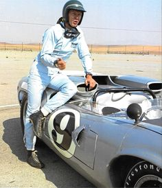 STEVE MCQUEEN EARLY RACING PHOTOGRAPH LOLA T70 OUR MIKE DELANEY OF LE MANS | eBay                                                                                                                                                                                 More