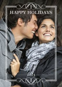 Love this Mixbook Classic Frames Christmas Card. Might be our card this year. :)