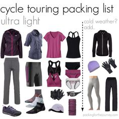 Reducing the load: Cycle touring packing list - packing for the journey