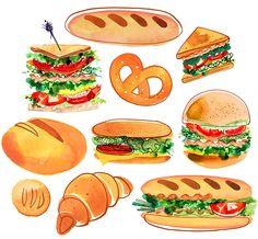 Margaret Berg Art: Sandwich Platter