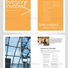 A high quality, professionally presented corporate brochure/annual report template. This A4 annual report template is extremely elegant and understated. The modern and minimalistic design can be easily adapted to suite virtually any business sector. The template includes multiple page designs that can be easily mixed and matched giving you a wide variety of double page spread layouts.  InDesign - $10.99  Finishing & Printed Lots Pricing Upon Request