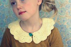 Crocheted collar