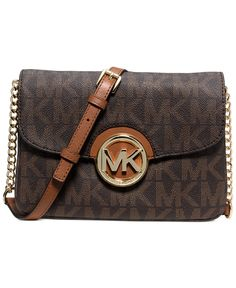 MICHAEL Michael Kors Fulton Flap Gusset Crossbody - Handbags & Accessories - Macy's