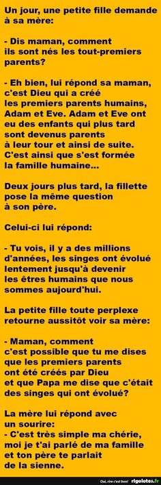 L'origine du premier homme (Sorry I'm just legit proud I could read this! Funny Images, Funny Photos, Minions, Sarcasm Humor, Funny Cute, Funny Jokes, Haha, Messages, Words