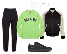 """Spring Supreme"" by aayeshaofficial on Polyvore featuring Vans, Prism, Balenciaga and Levi's Vintage Clothing"