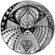 Lots of fun. Great present to give someone in the form of a poster or canvas print that they will be able to colour in if they so wish and hang it on their walls.They will find it a very therapeutic exercise by colouring them in and personalizing them. http://leana-de-villiers.artistwebsites.com/featured/mandala-ldv-2015-02-02-black-leana-de-villiers.html