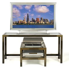 TV LCD Plasma Stand & Audio Video Caddy bo by Boltz