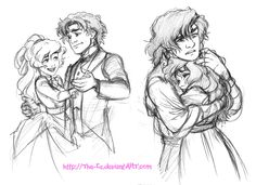 Dance Hug - June 2013 by The-Ez on @DeviantArt