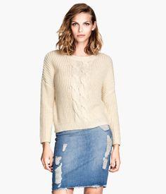 H&M Rib-knit Sweater $24.95