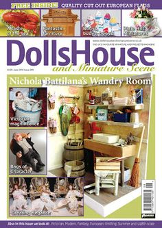 My Miniature World: The Toll House makes it on print on DHMS