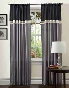 Creative ways to extend the length of your curtain panels  add color     Find homes that suits your style with zovue com