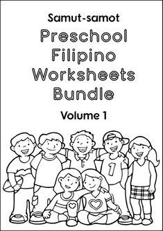 Free worksheets for learning Tagalog/Filipino Preschool Printables, Kindergarten Worksheets, Free Worksheets, Kindergarten Addition, Addition Worksheets, Fun Activities For Toddlers, Preschool Activities, Tagalog Words, Math Words