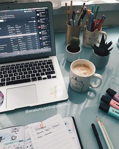 """Anatomy and Cappuccini: """"I'm out of luck. You know … – Problema … - Studying Motivation Study Desk, Study Space, Study Areas, Study Pictures, Study Organization, Study Hard, School Notes, Study Motivation, Homework Motivation"""
