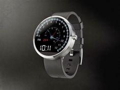 Moto360 / Smartwatch //-) (Quelle: plus.google.com/+Motorola)