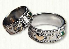 deSignet International raru.com:  Claddagh Knot Bands, Celtic Wedding Rings @ affordable prices online!