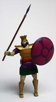 Vintage SPIRIT WARRIOR David and Goliath Action Figures ... |David And Goliath Action Figures