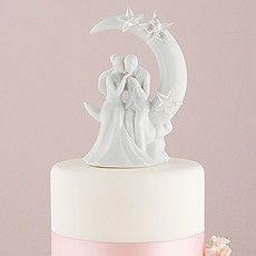 Written In The Stars Couple Romantic Wedding Cake Topper