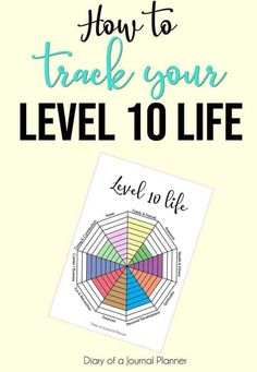 Track your life with this FREE Level 10 Life printable. Make small improvements to create a balanced life you love. Bullet Journal Tracker, Bullet Journal Printables, Bullet Journal Hacks, Bullet Journal For Beginners, Wheel Of Life, Templates Printable Free, Bullet Journal Inspiration, Printable Planner, Bujo