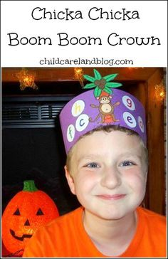 childcareland blog.  Chicka Chicka Boom Boom Crown