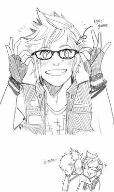 Final Fantasy Xv Ignis, Final Fantasy Artwork, Cartoon Games, Cartoon Shows, Prompto Argentum, Cute Anime Pics, Fantasy Series, Manga, Kingdom Hearts