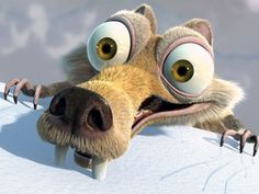 Scrat from the Ice Age Movies