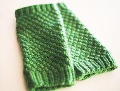 Good beginning knit project.