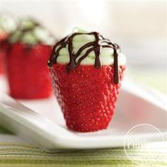 Key Lime Filled Strawberries from Pillsbury® Baking