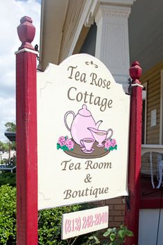 Tea Rose Cottage - Tampa FL. This is such a great place!