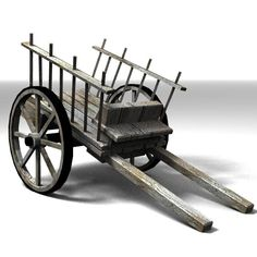 medievalprops_lowpoly Model available on Turbo Squid, the world's leading provider of digital models for visualization, films, television, and games. Bullock Cart, Diy Popsicle Stick Crafts, Wood Cart, Diy Cabin, Wooden Wagon, Flower Cart, Miniature Crafts, Wagon Wheel, Wine Bottle Crafts
