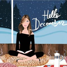 "Illustration de mode - Illustration de mode ""Illustration de mode You are in the right place about trends humor Here we - Hello December Tumblr, Hello December Images, December Pictures, Hello November, Winter Christmas, Christmas Time, Xmas, Cover Design, Welcome December"