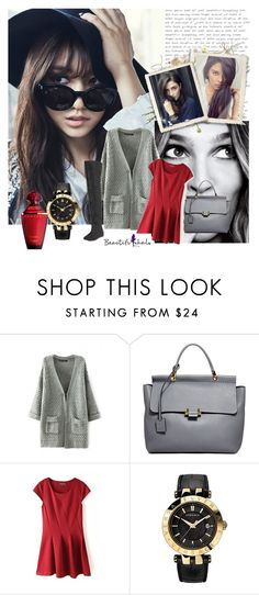 """BEAUTIFULHALO III/14"" by albinnaflower ❤ liked on Polyvore featuring Shin Choi, Lanvin, Versace and bhalo"