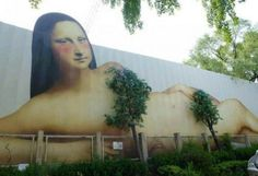 10+ Amazing Street Art Installations That Cleverly Interact With Nature