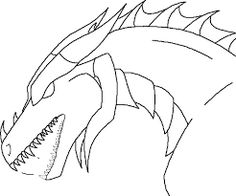 Image result for dragon head template