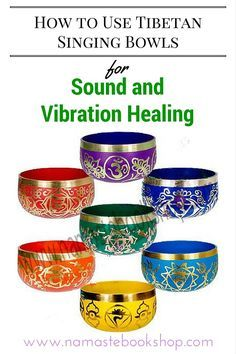 Singing bowls offer healing magic to everyone. Here's is simple guide on How to Use Tibetan Singing Bowls for Sound and Vibration Healing | namastebookshop.com