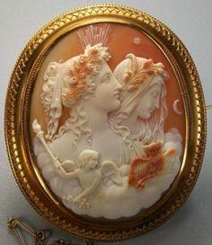 Cameos,Victorian jewellery,antique