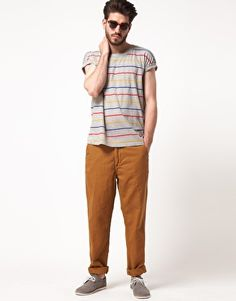 Enlarge Levi's Made & Crafted Stripe T-Shirt