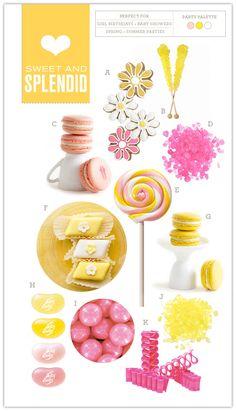 Sweet and Splendid: Pink, Yellow, and White - Somewhere Splendid
