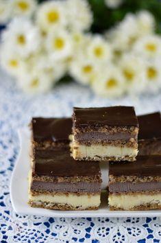 Prajitura Alcazar - CAIETUL CU RETETE Sweets Recipes, Cake Recipes, Romanian Desserts, Food Cakes, Nutella, Sweet Treats, Deserts, Goodies, Food And Drink