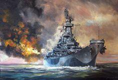 1944 Battleship Missouri, USA BFD