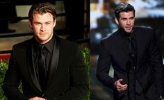 Black on black suit - http://heeyfashion.com/2015/08/black-on-black-suit/